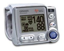 OMRON Ultra Premium Wrist BP Monitor with PC Software