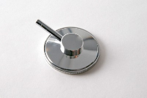 Single Head, Aluminum,  Replacement Chestpiece  for Lightweight Nurses Stethoscope (411 Series)