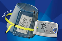 A&D LifeSource Multi-Function Automatic Blood Pressure Monitor