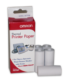 OMRON Replacement Roll of Thermal Paper (Box of 5): HEM-705
