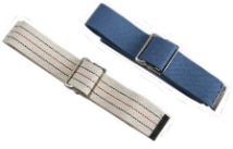 Cotton Gait Belt with Classic Metal Buckle