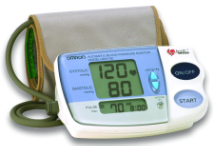 OMRON IntelliSense(TM) Digital Blood Pressure Monitor With Easy Wrap Cuff