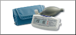 A&D LifeSource Mini Manual Inflation Digital Blood Pressure Monitor