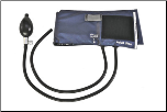Barrington Diagnostics Inflation Systems: Nylon Cuff, 2 Tube Bladder, Bulb & Air Release Valve