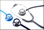 BV Medical Deluxe Chrome-Plated Dual-Head Stethoscope