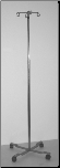 BV Medical IV Pole with 4 Hangers   (4-legged stand)