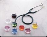 BV Medical Gem Scope Acrylic Stethoscope Chestpiece