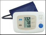 One Step Auto Inflation Digital Blood Pressure Monitor, Tele-Med Ready w/ Medium Cuff