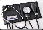 Barrington Diagnostics Self Taking Home Blood Pressure Kit, Black