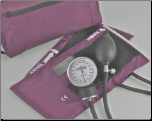 Barrington Diagnostics Carrying Case w/ Aneroid Sphygmomanometer